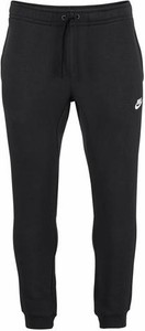 Czarne spodnie nike sportswear w sportowym stylu z bawełny