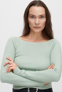Turkusowy sweter Reserved w stylu casual