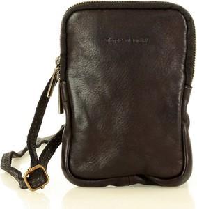 Brązowa torebka Marco Mazzini Handmade na ramię