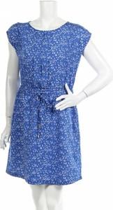 Niebieska sukienka Anna Karel mini w stylu casual