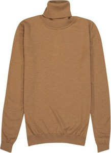 Brązowy sweter Sibin/linnebjerg