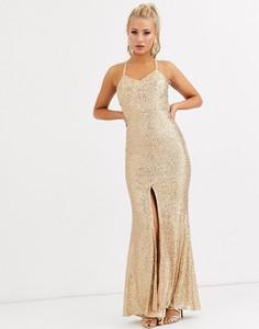 Sukienka Jarlo na ramiączkach z dekoltem w kształcie litery v