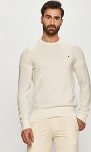 Sweter Tommy Hilfiger w stylu casual z dzianiny z okrągłym dekoltem