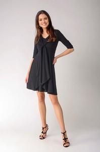 Sukienka Nommo z długim rękawem z bawełny