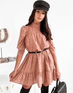 Różowa sukienka Infinityfashion.pl