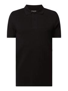 Czarna koszulka polo Selected Homme z bawełny