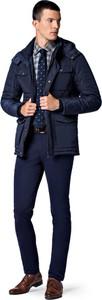 Granatowa kurtka LANCERTO w stylu casual