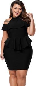 6767185fbc Mała Czarna Sukienka Dla Puszystych Stylowo I Modnie Z Allani