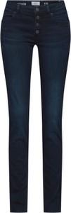 Jeansy Q/s Designed By - S.oliver z jeansu w młodzieżowym stylu