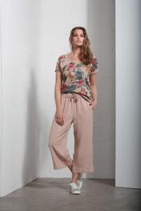 Różowe spodnie Deha