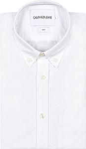 Koszula Calvin Klein z długim rękawem z kołnierzykiem button down