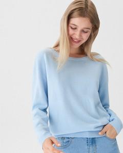 d2f75a4bdc60 Niebieski sweter House w stylu casual