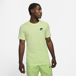 Zielony t-shirt Nike w sportowym stylu z krótkim rękawem