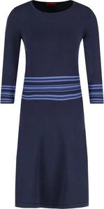 Niebieska sukienka Hugo Boss