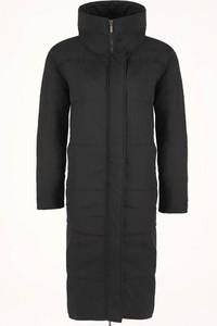Czarny płaszcz Byinsomnia w street stylu