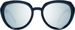 Niebieskie okulary damskie Jimmy Choo Vintage