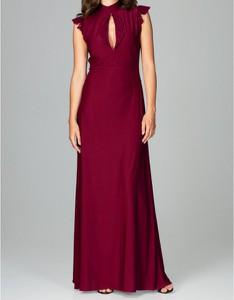 Czerwona sukienka LENITIF