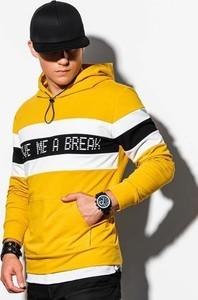 Bluza Ombre w młodzieżowym stylu z nadrukiem