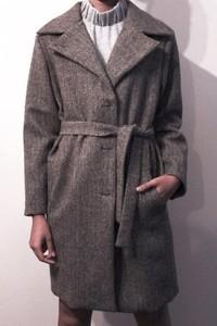 Płaszcz True Color By Ann z wełny
