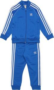Niebieski dres dziecięcy Adidas Originals