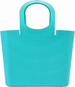 Niebieska torebka Pellucci duża do ręki