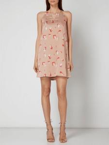 Różowa sukienka Only bez rękawów
