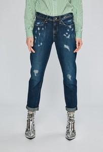 Niebieskie jeansy G-Star Raw z bawełny w street stylu