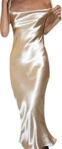 Złota sukienka Cikelly