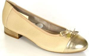 Caprice 22152-26 beige/gold półbuty damskie