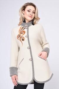 Płaszcz Vitesi w stylu casual z bawełny