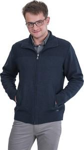 Granatowy sweter Swetry Lasota