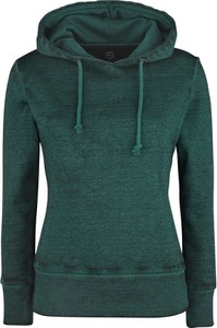 Zielona bluza Emp z bawełny w stylu casual