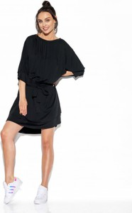 Czarna sukienka Lemoniade mini z długim rękawem
