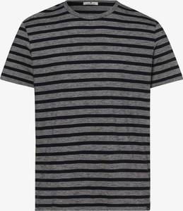 Niebieski t-shirt Tom Tailor z bawełny w stylu casual z krótkim rękawem