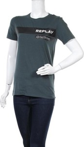 T-shirt Replay z krótkim rękawem