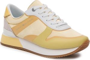 05640b218953b Sneakersy Tommy Hilfiger sznurowane w młodzieżowym stylu