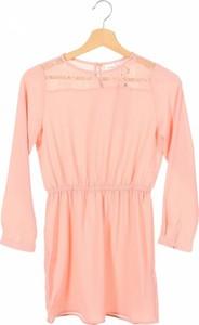 Różowa sukienka dziewczęca Name it