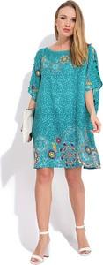 Sukienka Namaste z okrągłym dekoltem