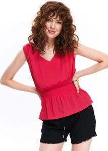 Różowa bluzka Top Secret