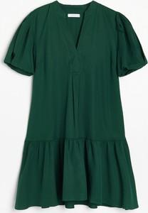 Zielona sukienka Reserved w stylu casual