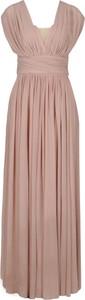 Różowa sukienka Marella maxi