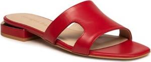 Czerwone klapki Sergio Bardi w stylu casual