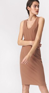 Sukienka Nife z okrągłym dekoltem