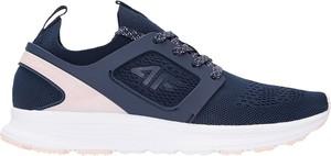 Buty sportowe 4F sznurowane z płaską podeszwą