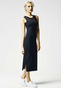 Czarna sukienka Urban Classics maxi