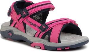 Różowe buty dziecięce letnie eobuwie.pl na rzepy