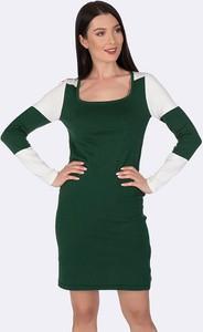 Sukienka Giorgio Di Mare mini z bawełny