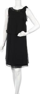 Czarna sukienka Un Deux Trois bez rękawów mini