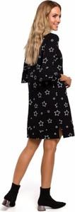 Czarna sukienka MOE z bawełny