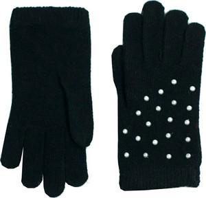 Czarne rękawiczki Art of Polo